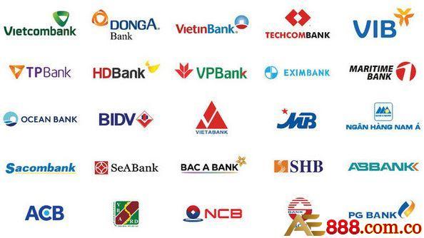 các ngân hàng nhà cái hỗ trợ